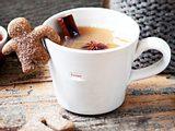 Heißer Apfelpunsch mit Zimt-Lebkuchenkeksen Rezept