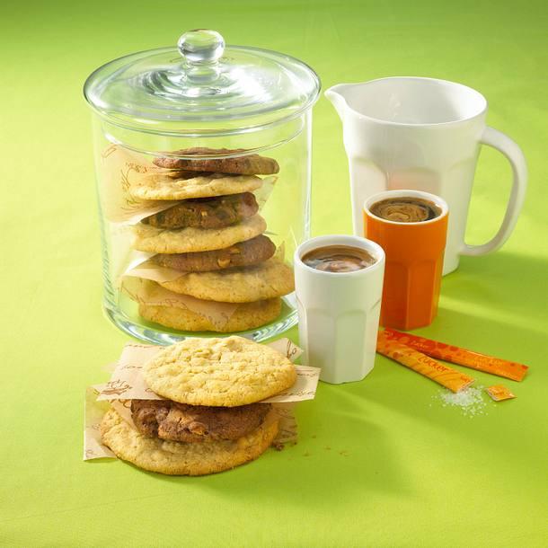 Helle und dunkle Cookies Rezept