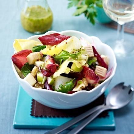 Herbstlicher Chicoree-Salat Rezept