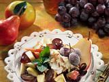 Herbstlicher Obstsalat Rezept