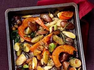 Herbstliches Ofengemüse Rezept