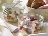 Heringssalat mit Preiselbeeren Rezept