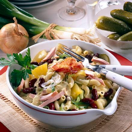 Herren-Salat (Nudelsalat) Rezept