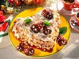 Herz-Torte mit kleinen Erdbeer-Käfern Rezept