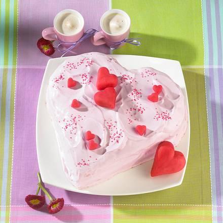 Herzchen-Kuchen Rezept