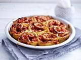 Herzhafte Pizzaschnecken Rezept