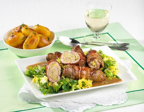 Herzhafte Roastbeef-Rouladen Rezept