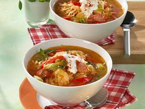 Herzhafte Sauerkrautsuppe Rezept