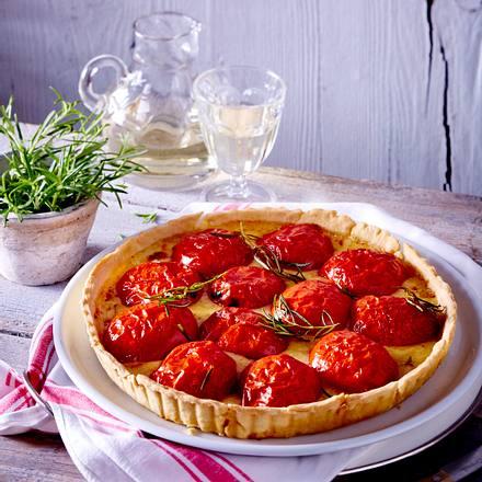 Herzhafte Tarte mit Tomaten und Comté Rezept