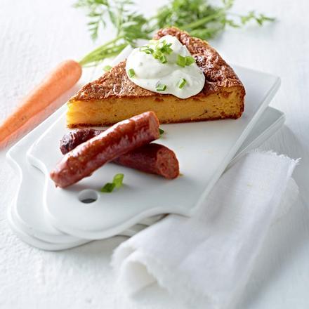 Herzhafter Carrot-Cake Rezept
