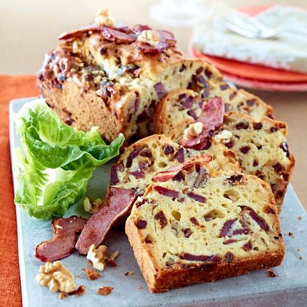 Herzhafter Kuchen mit geräucherter Entenbrust und Feigen Rezept