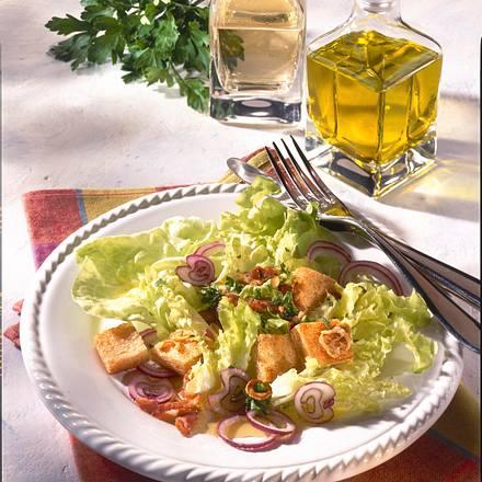 Herzhafter Salat-Teller Rezept