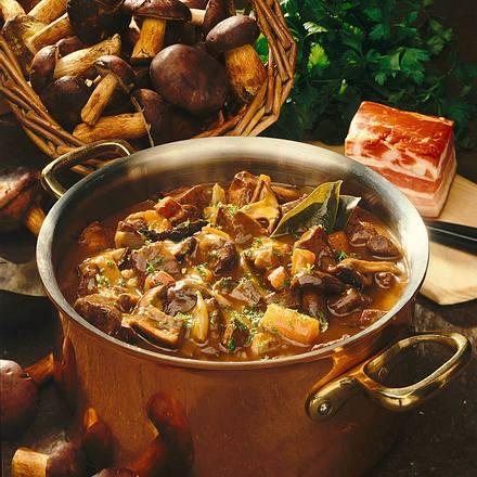 Herzhaftes Maronen-Gulasch Rezept