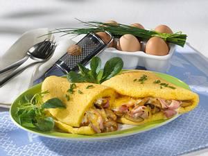 Herzhaftes Schaum-Omelett Rezept
