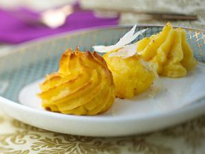 Herzogin-Kartoffeln mit Trüffelbutter Rezept