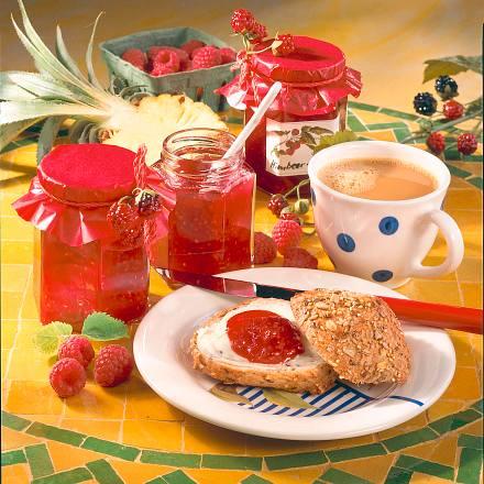 Himbeer-Ananas-Konfitüre Rezept