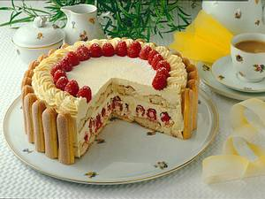 Himbeer-Buttercreme-Torte nach Malakow Art Rezept