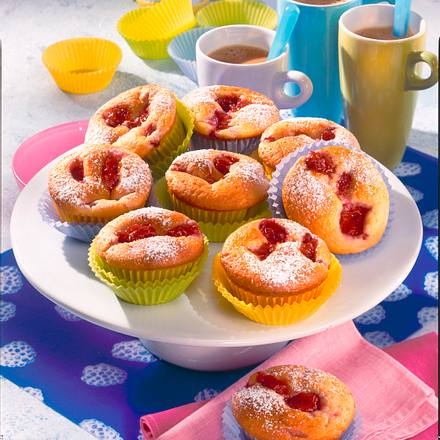 Himbeer-Buttermilch-Muffins Rezept