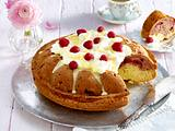 Himbeer-Donauwellen-Kuchen Rezept