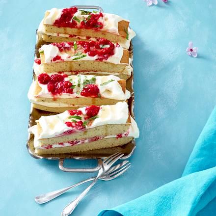 Himbeer-Earl Grey-Kuchen Rezept