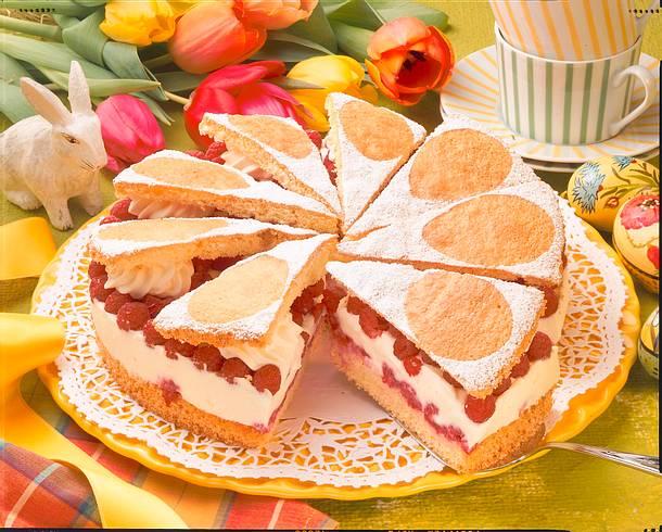 Himbeer-Flügel-Torte Rezept