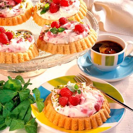 Himbeer-Frischkäse-Törtchen (Diabetiker) Rezept