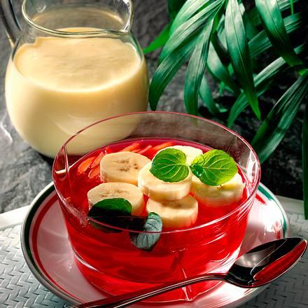 Himbeer-Götterspeise Rezept