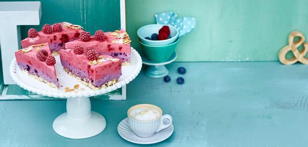 Himbeer-Heidelbeer-Torte Rezept