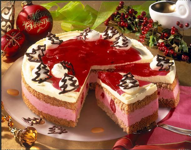 Himbeer-Lebkuchen-Torte Rezept