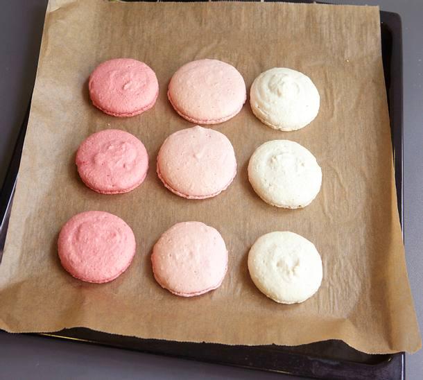Himbeer-Macarons Rezept