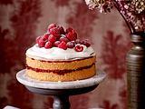 Himbeer-Mandel-Torte Rezept