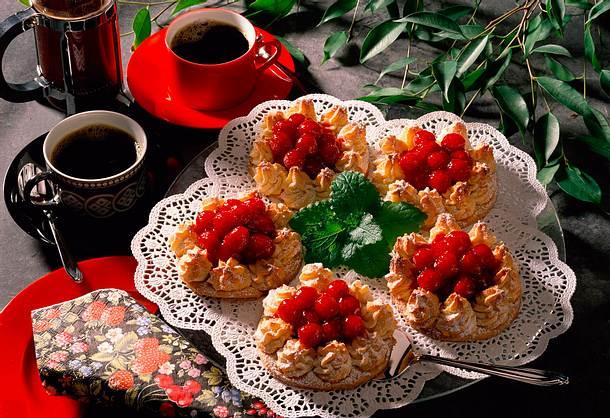 Himbeer-Marzipan-Törtchen Rezept