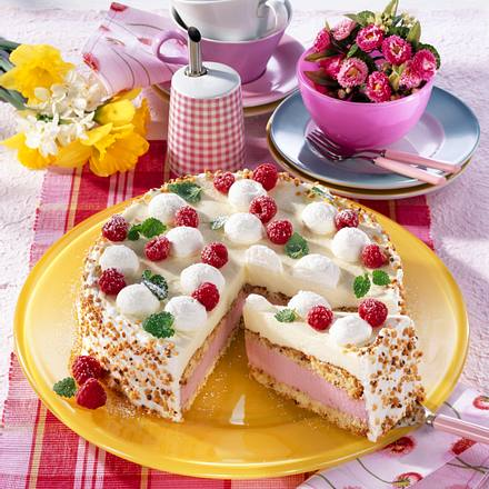 Himbeer Mascarpone Torte Rezept Lecker