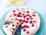 Himbeer-Melonen-Cheesecake Rezept