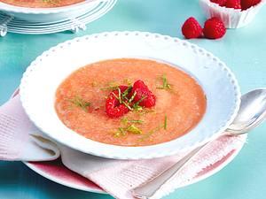 Himbeer-Melonen-Kaltschale Rezept
