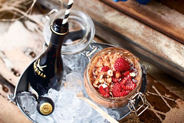 Himbeer-Nougat-Plaisir Rezept