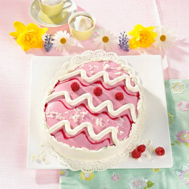 Himbeer-Osterei-Torte Rezept