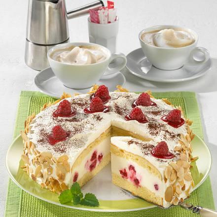 Himbeer-Pannacotta-Torte Rezept