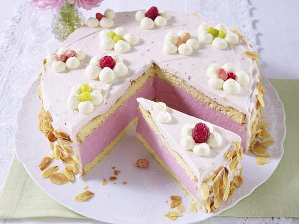 Himbeer Quark Sahne Torte Rezept Lecker