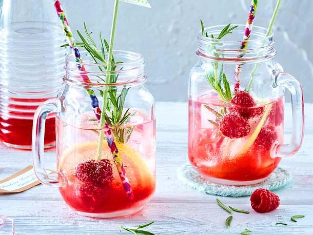 Himbeer-Rosmarin-Limonade Rezept