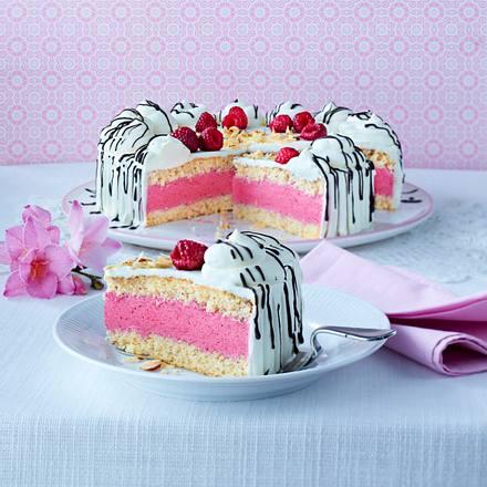 Himbeer-Sahne-Torte Rezept