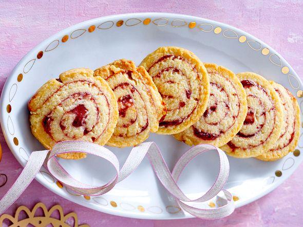 Himbeer-Swirl-Cookies Rezept