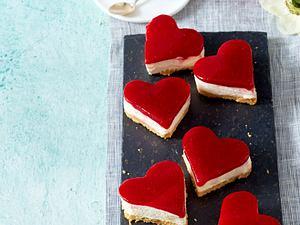 Himbeer-Tiramisu-Herzen Rezept
