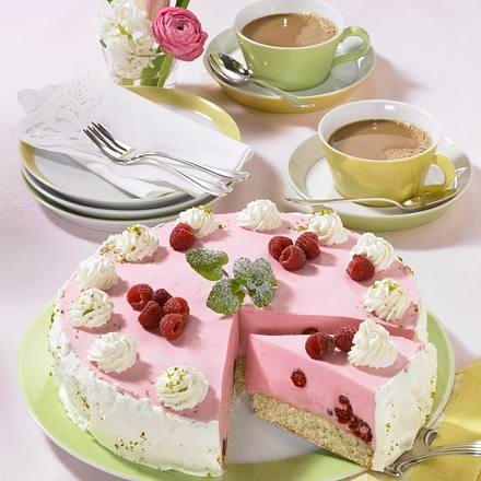 Himbeerbiskuit-Torte Rezept