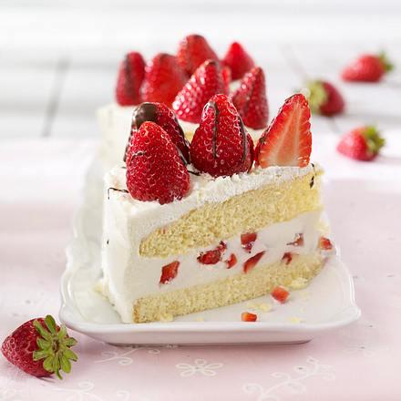 Himmlische Erdbeer-Joghurt-Torte Rezept