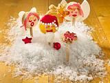 Himmlische Weihnachtsboten-Lollis Rezept