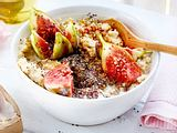 Hirse-Porridge mit Feigen Rezept