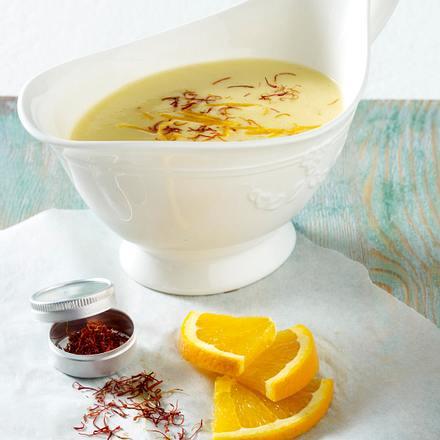 Hollandaise mit Safran und Orange Rezept