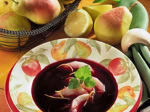 Holunder-Birnen-Suppe Rezept