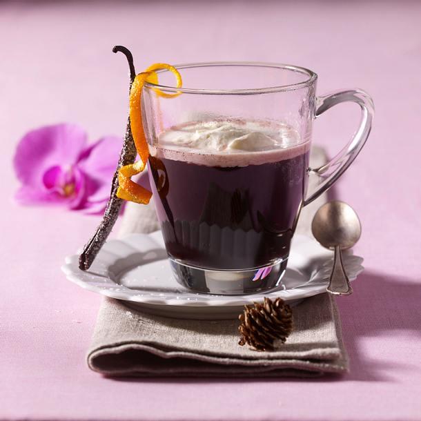 Holunder-Trauben-Punsch Rezept